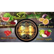 Табак для кальяна SHUBRA арбуз-маракуйя-черешня-двойное яблоко